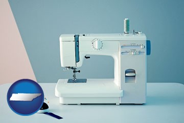 sewing machine - with Tennessee icon